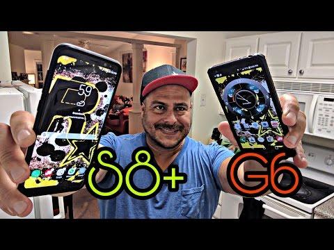 **Samsung Galaxy S8+ HUMILLA brutalmente al LG G6 en Benchmarks**
