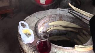 Как пекут грузинский хлеб. Кахетия