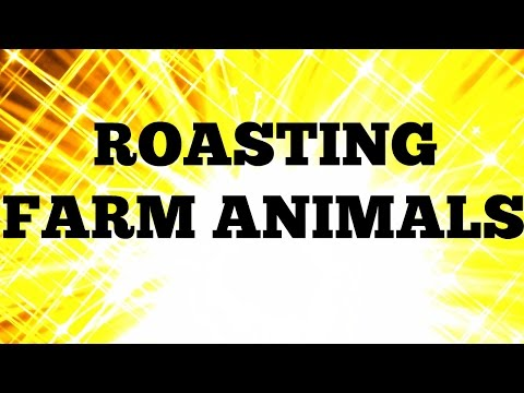 ROASTING ANIMALS IN A FARM IN CANADA? JUST WHY? I'LL TELL YOU WHY. WHY NOT?