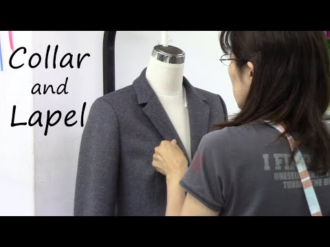 How to sew a Collar and Lapel of a Tailored Jacket