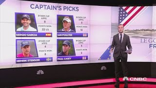 Ryder Cup 2018: Here are the captain's picks | CNBC Sports