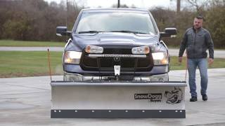 How to mount a SnowDogg MD, VMD, XP, CM, MUT, or VUT snow plow.
