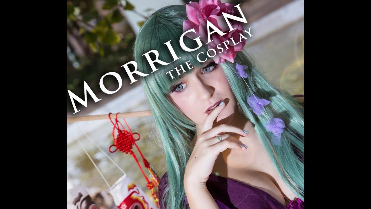 porn cosplay west michelle morrigan Darkstalkers