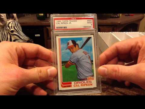 Cards and Stories: 1982 Topps Traded Cal Ripken Jr.