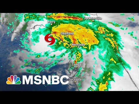 Community Under Flood Watch As Tropical Storm Elsa Sweeps Up Florida