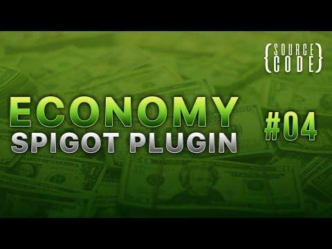 Custom Economy Spigot Plugin - Balance Command - Episode 4