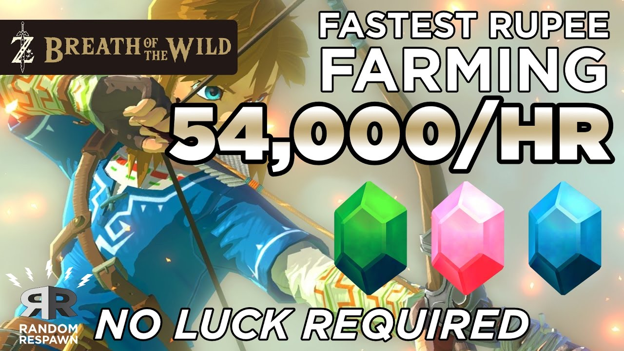 Breath Of The Wild Rupee Farming