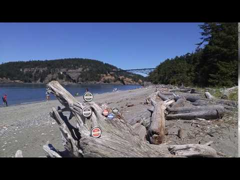 Deception Pass, Whidbey Island WA and our wonderful Salves!