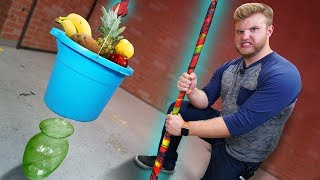 DIY 100 Layer Fruit By The Foot Rope?!