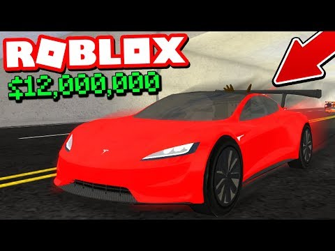 I BOUGHT A $12,000,000 TESLA ROADSTER! *ROBLOX VEHICLE SIMULATOR*