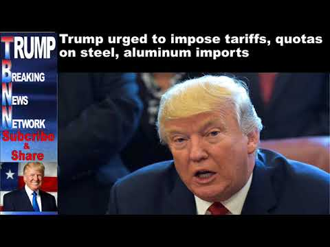 Trump urged to impose tariffs, quotas on steel, aluminum imports