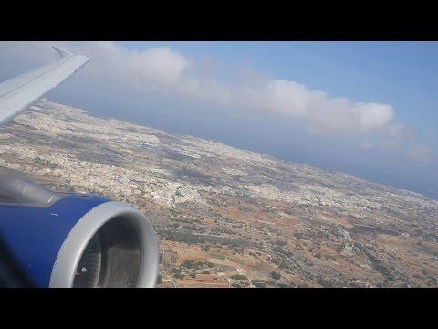 (4K) British Airways A320 | Malta to Gatwick | Club Europe Flight Video - BA2645