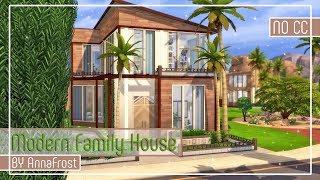 The Sims 4: Строительство | Современный семейный дом №3