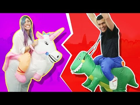A RACE TO THE FINISH! - Husband vs Wife - JUST DANCE 2016!