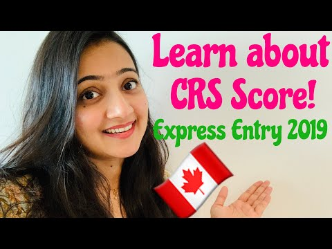 CRS Score | How To Increase Your CRS Score