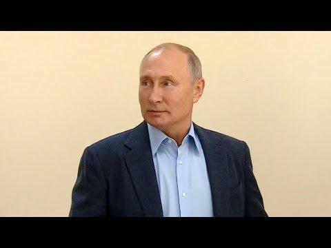 20 лет мира: Путин встретился с ополченцами в Ботлихе