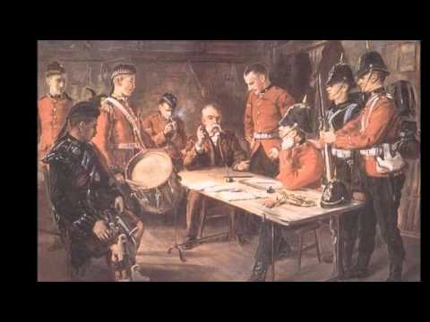 Victorian British Army - The King's Own Scottish Borderers (Quick March)