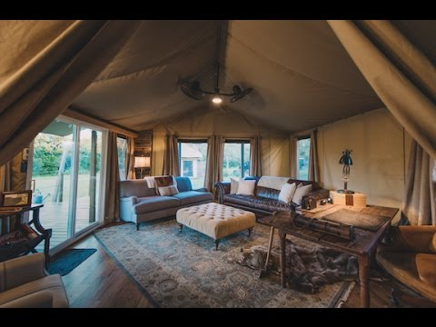 & American Safari: Coolest House Tent in Texas - YouTube