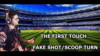FIFA 14 Attacking Tutorial / The First Touch Fake Shot / Scoop Turn / Advices & Tips
