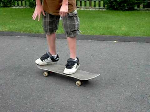 how to ollie while moving