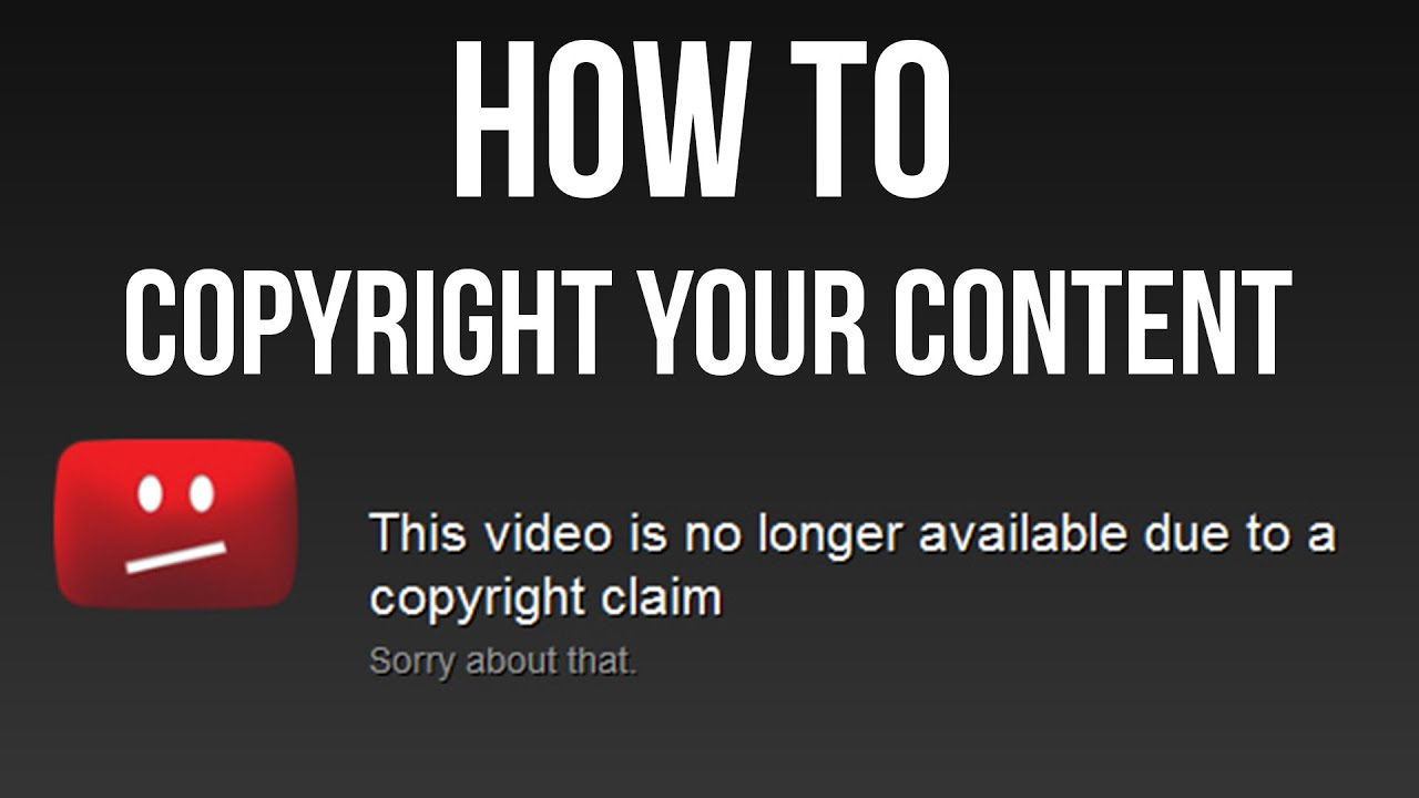 How To Copyright Your Video And Music For Facebook And Youtube Youtube