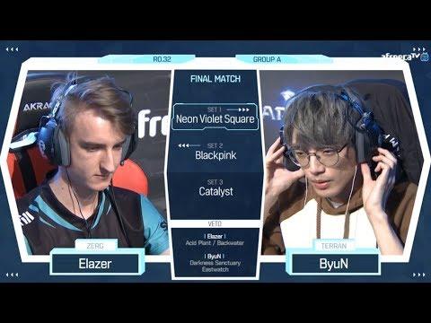 [2018 GSL Season 2] Code S Ro.32 Group A Match5 ByuN vs Elazer