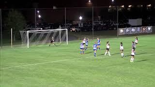 Gardner-Webb Women's Soccer: Highlights vs. UNC Asheville (10-16-19)