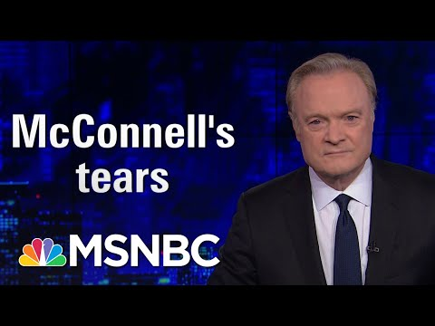 Mitch McConnell Actually Cried Today. Lawrence Was Not Moved | The Last Word | MSNBC