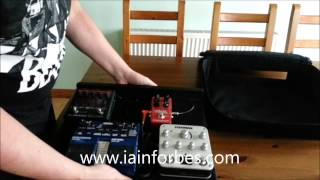 Gator pedal tote case - pedalboard review and unboxing