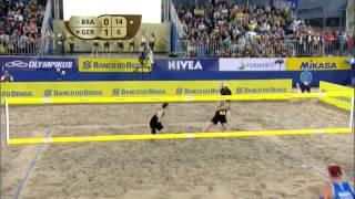 Alison/Bruno Schmidt vs Flüggen/Böckermann (Semifinals) RIO OPEN 2015