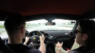 Driving the Ferrari 458 Speciale around Maranello