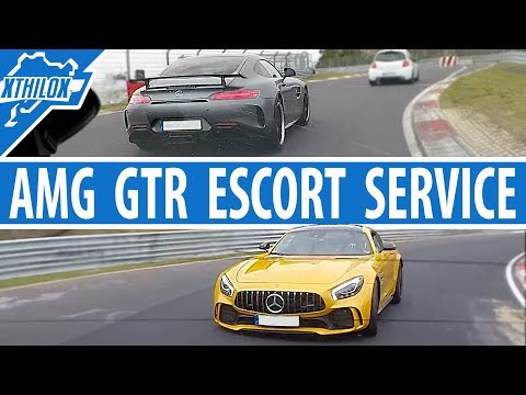 AMG GTR Escort Service + Leon Cupra on Nürburgring Nordschleife BTG Touristenfahrten