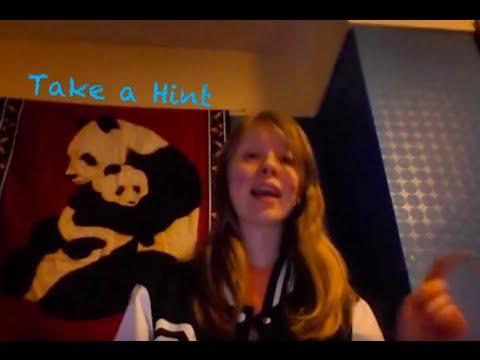 Take a hint music video   chellydagleek