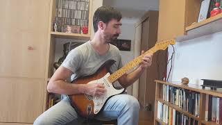 UNDER THE PILLOW GUITAR SOLO COVER RIVERSIDE PIOTR GRUDZINSKI 2015
