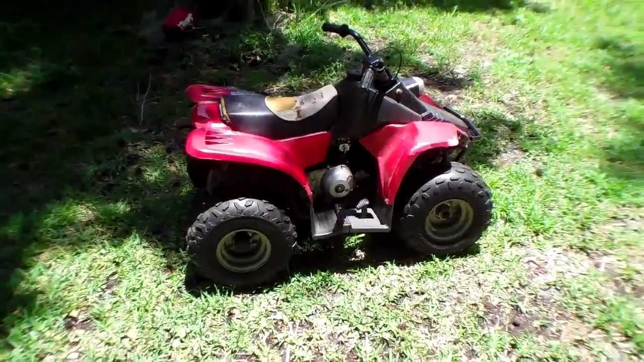 Push start without battery 50cc ATV - YouTube