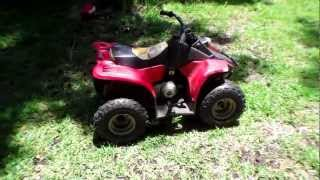 Push start without battery 50cc ATV
