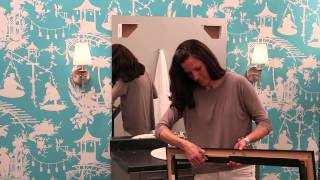 See How To Frame A Bathroom Mirror - Mirrormate Frames® Frame Installation