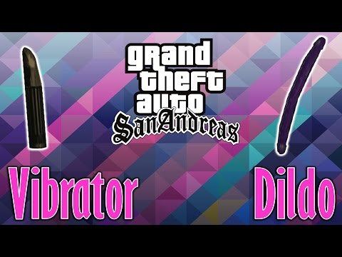 GTA San Andreas - How To Get A Dildo And A Vibrator