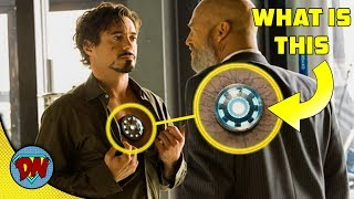 What is on Iron Man