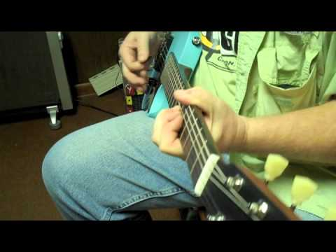 Larrivee Daphne Blue RS-2 Electric Guitar - Small Town Music