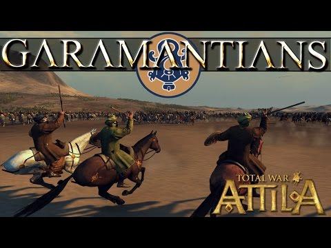 Garamantians FLC Faction Preview and Battle - Total War Attila
