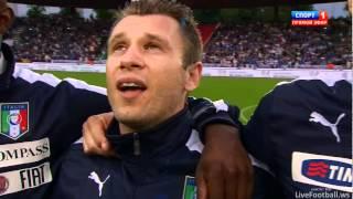 Italy Anthem - Friendly match Italy - Russia - 01.06.2012 - FB.com/ItalyFanclub