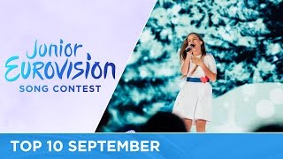 TOP 10: Most watched in September - Junior Eurovision Song Contest