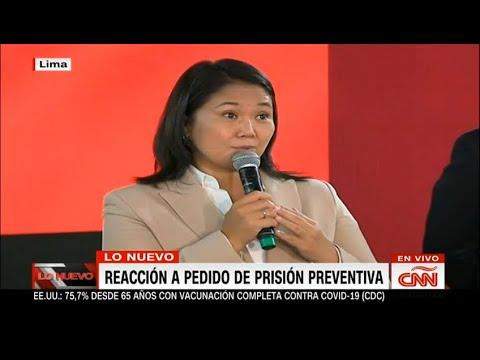 Así responde Keiko Fujimori a pedido de prisión preventiva