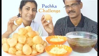 Puchka( Panipuri/Golgappa) Eating Challenge || Indian Food Eating Show || Hot Chilli