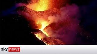 View live: La Palma volcano eruption    NewsBurrow thumbnail