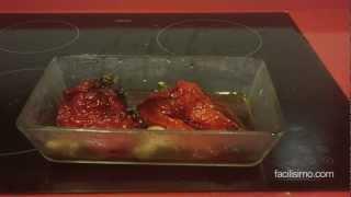 cómo hacer pimientos asados facilisimocom