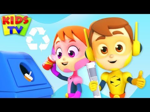 Yes Yes Save The Earth | Recycling Song | Nursery Rhymes & Kids Songs