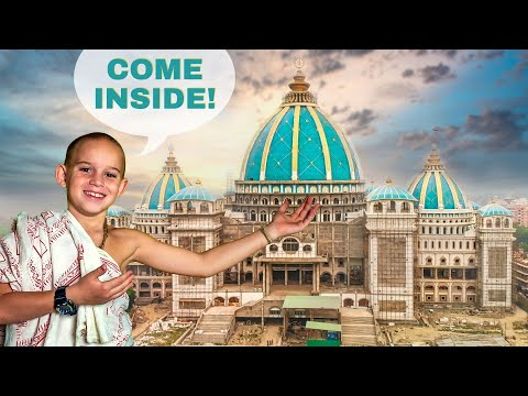 Take a look inside the world largest Vedic Temple / TOVP Temple of Vedic Planetarium 2021