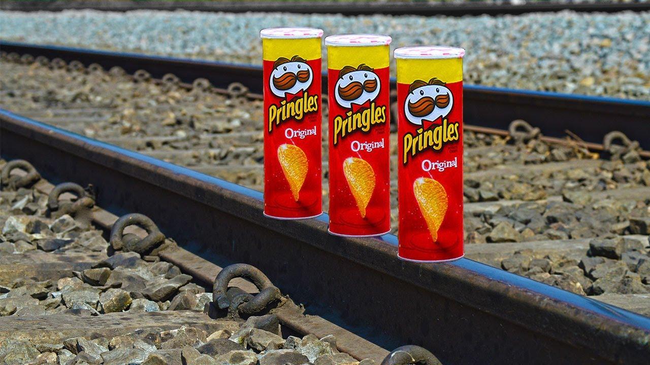 train Vs Pringles Test
